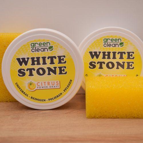 WHITE STONE – Reinigungs- Polier- und Pflegestein
